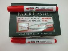 Faber 152-R beyaz tahta kalemi kırmızı dz 17,50+_500x375