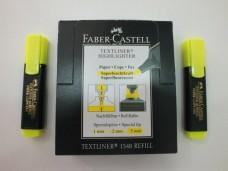 Faber 1548 fosforlu kalem sarı pk(10 lu ) 17,50+_500x375