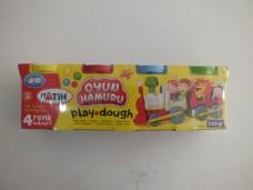 Fatih play dough 4 renk oyun hamuru 5,50+_500x375
