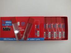 Mikro M-928 2mm kırmızı uç (pk 24 lü) 8,00+_500x375