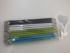 Çengelli lastik kartlı renkli pk(24 lü) 2,50