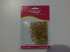 Nazarone sarı küçük çengelli iğne pk(144 ad) 1,00