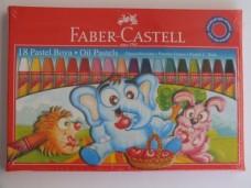 Faber castell 5282 125318  çantalı 18 li pastel boya 6,00'_600x450