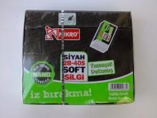 Mikro 2B-40S Soft Siyah Silgi pk(40'lı) 7,50_600x450