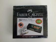 Faber 188923 siyah  silgi pk(20 li) 16,00_600x450