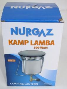 Nurgaz NG 410 (500 watt) Kamp Lambası- Lüks başlığı 14,00_450x600