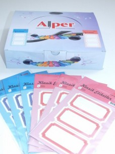 Alper-1013 Klasik Kabartma Etiket (pk 100lü) ad 0,50_450x600