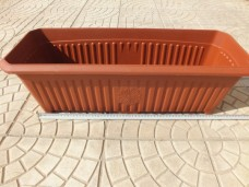 Plastime No 1 700x255x210mm 25lt dış mekan balkon saksısı 5,50_600x450