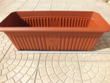 Plastime No 2 750x300x255mm 42lt dış mekan balkon saksısı 7,00_600x450
