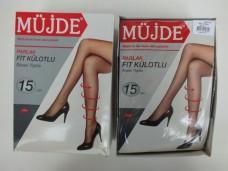 Müjde 15 denye 500-siyah-2 parlak fit külotlu çorap pk( 6 lı ) 20,50_600x450