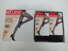 Müjde 80 den siyah-1 naturel külotlu çorap pk( 6 lı) 27,00_600x450