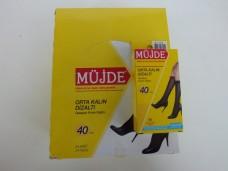 Müjde orta kalın dizaltı 40 denye çorap pk( 24 ad) 21,00_600x450
