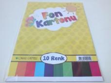 Çınar 10 Renk Fon Kartonu (koli 200'lü) ad 1,75_600x450