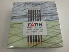 Fatih köşeli silgili kurşun kalem pk(144lü) 60,00 +_600x450