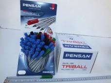 Pensan Triball 60'lı Karışık Renkli Tükenmez Kalem 31,00_600x450