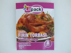 Liipack 25X38cm yanmaz 8 li fırın torbası 1,10_600x450