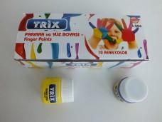Trix b-204 10 lu parmak-yüz boyası 6,50_600x450