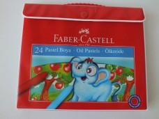Faber Castell 5281 125125 çantalı 24 lü pastel boya 17,50_600x450