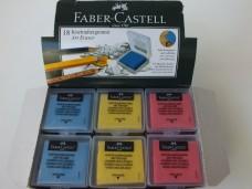 Faber Castell PP kapak renkli hamur silgi pk(18 li) 30,00_600x450