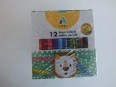 Adel 12 li kısa kuru boya kalemi dz 38,00_600x450