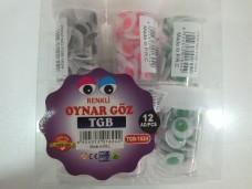 TGB-1624 renkli oynar göz pk(12 li) 10,00_600x450