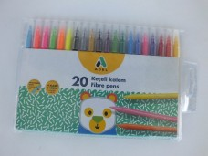Adel keçeli kalem 20 renk 11,00_600x450