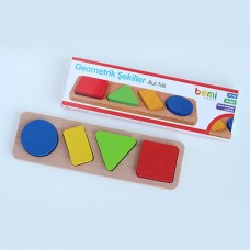 Bemi Toys ahşap geometrik bul-tak 10,00
