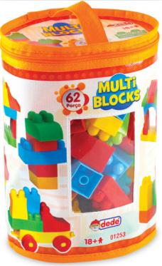 Dede 01253 62 prç multi blocks 16,00