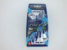 Dorco pace3 3 bıçaklı 4lü jilet 6,50_600x450