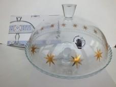 Paşabahçe 95200 desenli kapaklı ayaklı servis tabağı - kek fanus koli(2 ad) ad 46,50 koli 91,00_600x450