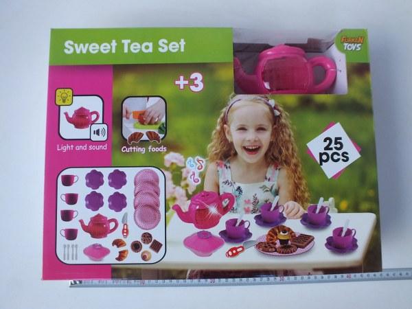 Furkan Toys 25 prç ışıklı ve sesli çay seti 28,00_600x450