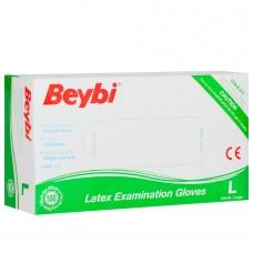 Beybi muayene eldiveni L pk(100lü) koli(20pk) pk 10,95