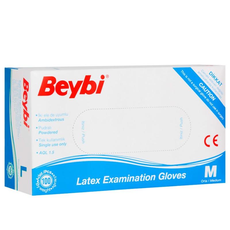 Beybi muayene eldiveni M pk(100lü) koli(20pk) pk 10,95