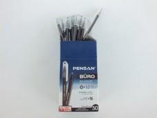 Pensan 2270 1,0mm siyah tükenmez kalem pk(50 li) 17,50_600x450