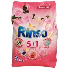 Rinso toz 6 kg renkliler için koli(4lü) ad 33,50 koli 127,50