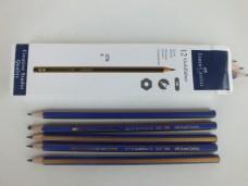 Faber Castell 8B dereceli resim kalemi 12'li 15,00_600x450