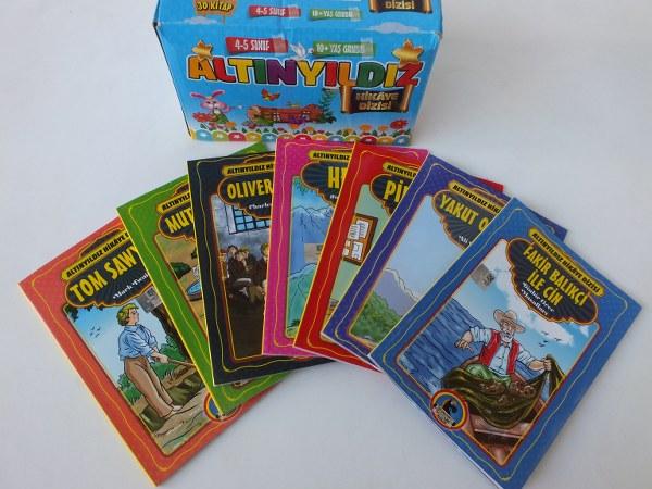 Karatay altınyıldız 4-5. sınıf hikaye-öykü kitapları pk(30 lu) 54,00_600x450