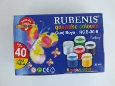 Rubenis rgb-30-6 30ml guaj boya 6'lı 5,15_600x450