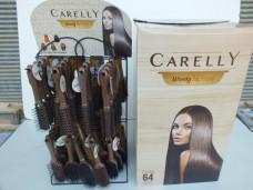 Carelly CR-503 woody saç fırçası - tarak stand(64lü) ad 6,25_600x450