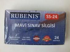 Rubenis SS-24 mavi sınav silgisi pk(24 lü) 15,00_600x450