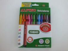 Alpino standart 12 renk keçeli kalem 12,50_600x450
