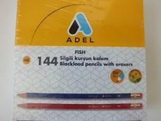 Adel fish silgili kurşun kalem pk(144 lü) 55,00_600x450