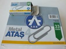 Ark 2835 metal ataş 33mm 24 lü pk 33,00_600x450