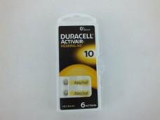 Duracell 10  kulaklık pili 6 lı pk 11,50_600x450