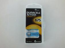 Duracell 675  kulaklık pili 6 lı pk 11,50_600x450