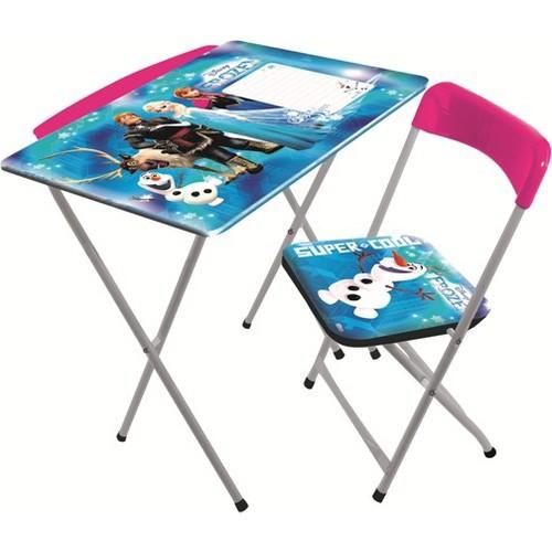 Furkan Toys lisanslı frozen katlanır çalışma masası 50,00