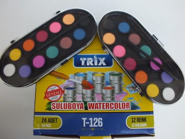 Trix t-126 12 renk sulu boya pk(24lü) 58,00_600x450