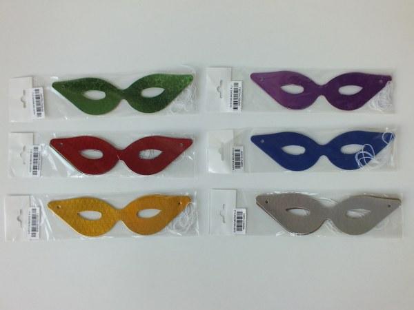 Yılbaşı karton maske gözlük 6'lı 1,00_600x450