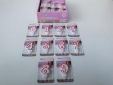 Ksmart rakamlı doğum günü mumu pk(36'lı) 40,00_600x450