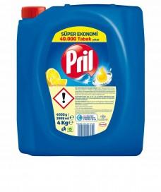 Pril 4kg sıvı deterjan koli(4lü) ad 18,50 koli 71,30